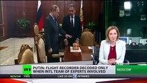 La RUSSIE GRÈVES ANTI-ISIL sous-marin de MISSILE Vladimir Poutine Armes Pour la Guerre