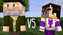 Vegetta777 VS Willyrex (Vegetta, Vegetta777 Girl, Thewillyrex, Minecraft Animation)