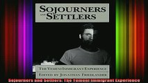 READ book  Sojourners and Settlers The Yemeni Immigrant Experience Full Free