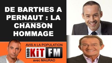 DE YANN BARTHES A JP PERNAUT : LA CHANSON HOMMAGE !