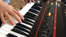 Blade Runner openning with Juno 60 & RE-20 Space Echo.