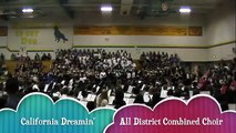 California Dreamin'/ All District Combined Choir/3/29/2012
