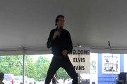 Gary Abbott sings 'A Little Less Conversation' Elvis Week 2010