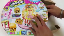 Shopkins fast food beados set!! Make your own coloured beados shopkins!!
