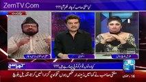 Apne Button Band Karo __ Mubashir Luqman say Qandeel Baloch in a Live Show