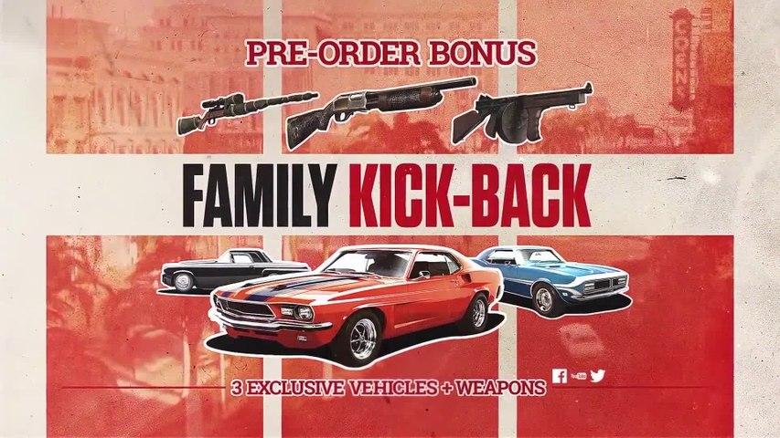 Mafia 3 - Family Kick-Back Trailer (2016)