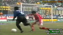Serie A 1999-2000, day 15 Inter - Perugia 5-0 (Seedorf goal)