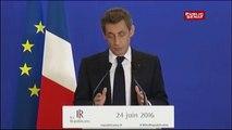 Brexit: Nicolas Sarkozy demande un « nouveau traité » européen