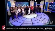 Envoyé Spécial : Guilaine Chenu et Françoise Joly émues, elles font leurs adieux (Vidéo)