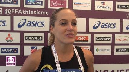 Mathilde Andraud : « J'ai hâte d'être aux Europe et aux JO »