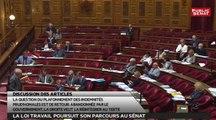 Sénat 360 : Le Sénat plafonne les indemnités prud'homales / La loi travail poursuit son parcours au Sénat (24/06/2016)