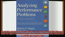 there is  Analyzing Performance Problems Or You Really Oughta WannaHow to Figure out Why People