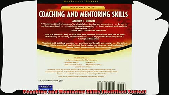 different   Coaching and Mentoring Skills NetEffect Series