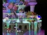 Davico (green jiggly) vs Gaia (blue jiggly)