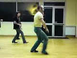 Drowsy Maggie Country Line Dance - Choré de Maggie Gallagher - Eric & Kat Country Rock Dancer (29)