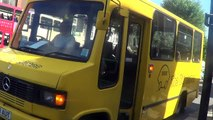 The Big Lemon bus arriving at Hove Station bus stop, 24th June 2016