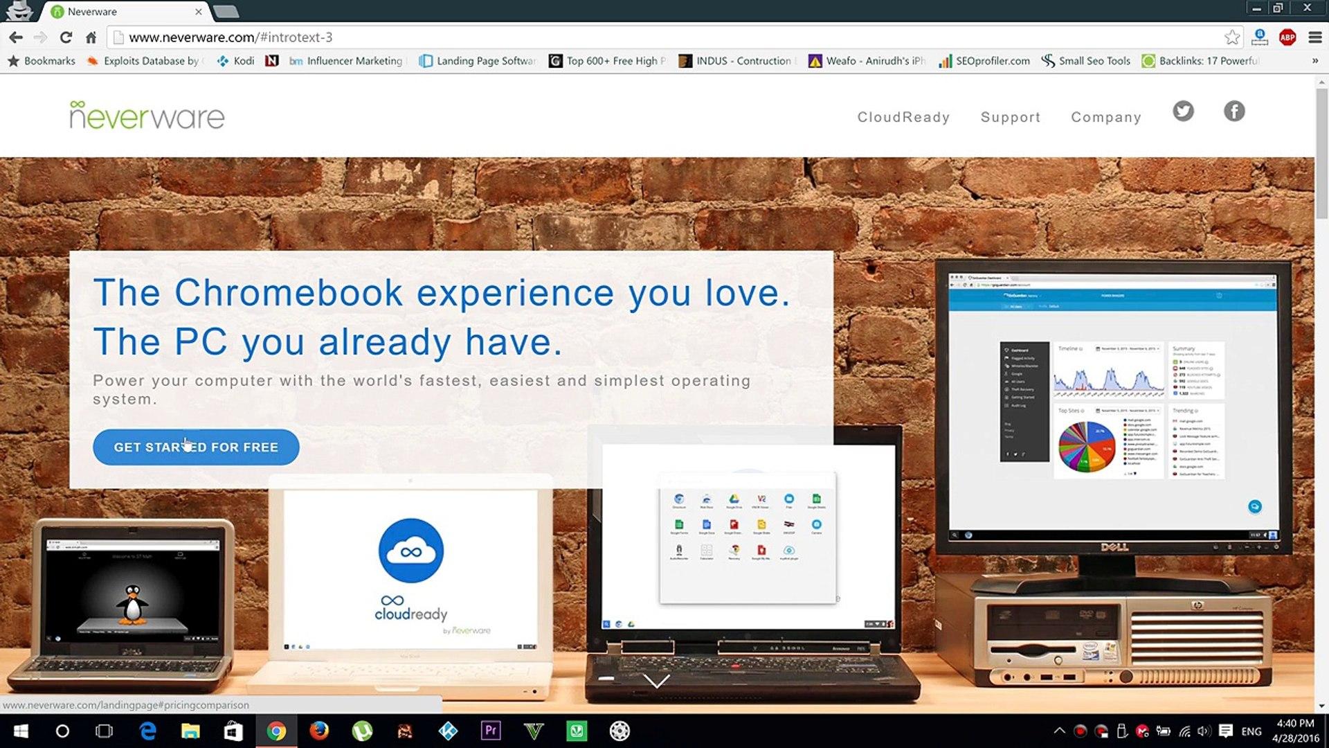 Dual Boot Cloud Ready Chrome OS on Windows 10 PC | Neverware ( Chromium OS )