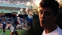 """El video de """"la mano de dios""""que emocionó a Diego Maradona"""