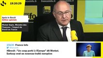 Brexit - l'impact sur l'économie française : Michel Sapin, Ministre des Finances et des Comptes publics