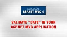 ASP.NET MVC 4 Tutorial In Urdu - Validating Date Format in ASP.NET MVC (3/3)