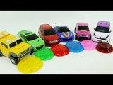 HelloCarbot MiniForce Tobot 6 Color Jelly Slime Monster Car Toys  헬로카봇 미니특공대 또봇 터닝메카드 젤리괴물 6색 장난감 놀이