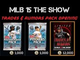 MLB 15 The Show Diamond Dynasty |TRADES AND RUMORS PACK OPENING | DIAMOND PULLS!!!