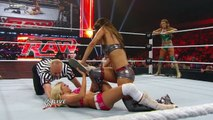 Raw - Raw- Kelly Kelly & Eve vs. The Bella Twins