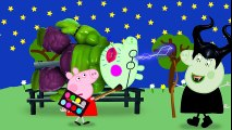 Peppa pig doing makeup for a halk big pig Finger Family Nursery Rhymes Lyrics Parody
