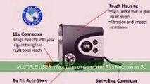Premium Digital 12V Tyre Inflator / Pump / Compressor Portable Automatic Air Pressure Gauge 150 Psi