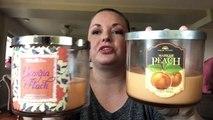 Candle Review: BBW's Georgia Peach & Market Peach