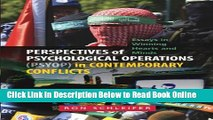 Read Perspectives of Psychological Operations (PSYOP) in Contemporary Conflicts: Essays in Winning