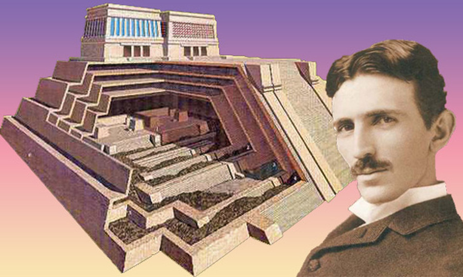 Nikola Tesla Electromagnetic Pyramids Blow Your Mind