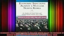 READ book  Economic Sanctions Against a Nuclear North Korea An Analysis of United States and United Full EBook
