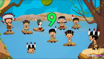 Ten Little Indians - Diez Pequeños Indios