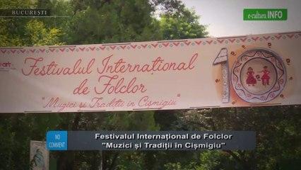 Festivalul International de Folclor Muzici si Traditii in Cismigiu