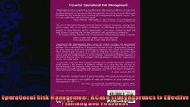 complete  Operational Risk Management A Case Study Approach to Effective Planning and Response