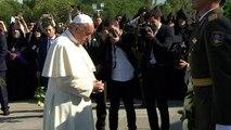 Arménie: le pape François se rend au mémorial du génocide