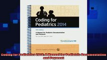 different   Coding for Pediatrics 2014 A Manual for Pediatric Documentation and Payment