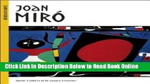 Read Joan Miro [With Stickers][STICKER BK-JOAN MIRO][Paperback]  Ebook Online