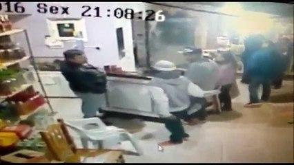 Comerciante de Castro é morto em assalto; Assista