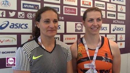 Mélina Robert-Michon & Pauline Pousse : « Un concours disputé ! »