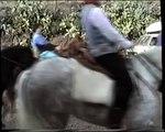 Carrera de cintas a caballo. Cuesta de Gos (Águilas, Murcia, España), 25-12-1993