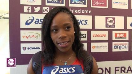 Stella Akakpo : « Très contente de battre mon record »