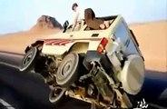 Amazing Arab Drifting Car On Two Wheels - Arab Crazy Drivers