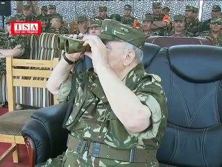 Manoeuvres militaires à In Amenas (Illizi)