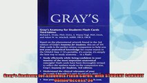 EBOOK ONLINE  Grays Anatomy for Students Flash Cards with STUDENT CONSULT Online Access 3e  FREE BOOOK ONLINE