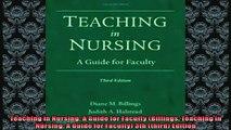 Free PDF Downlaod  Teaching in Nursing A Guide for Faculty Billings Teaching in Nursing A Guide for  DOWNLOAD ONLINE