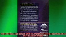EBOOK ONLINE  Code Of Ethics For Nurses With Interpretive Statements American Nurses Association READ ONLINE