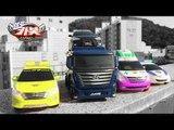헬로카봇 장난감 펜타스톰 야외 스톱모션 컬러합성 변신자동차 변신로봇 합체로봇 변신 동영상 HelloCarbot2 Transformers car toys