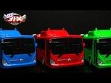 헬로카봇2 장난감 로드세이버 세이버 에어로시티 버스 세이버로봇 변신 컬러합성 스톱모션 동영상 HelloCarbot2 Transformers ColorChange